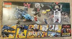 Lego Marvel Super Hero Airport Battle (76051) Civil War Brand New