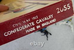 Lot Britains Ltd Vintage Civil War Metal Toy Soldiers Cavalry Union Confederate