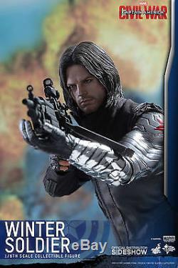 MARVEL Captain America Civil War WINTER SOLDIER 1/6 HOT TOYS
