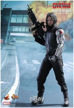 Marvel Hot Toys CIVIL War Winter Soldier 16 Scale Action Figure Hotmms351
