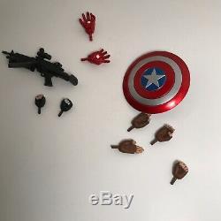 Marvel Select Captain America Civil War Complete Set Iron Man Winter Soldier