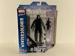 Marvel Select Winter Soldier movie Bucky Captain America Civil War diamond