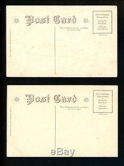 Memorial Day Vintage patriotic postcard SET OF 6 Series D4 Civil War soldiers