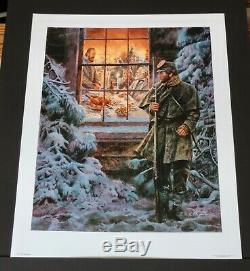 Mort Kunstler How Real Soldiers Live. Collectible Civil War Print Mint