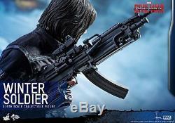 Movie Masterpiece Civil War Captain America Winter Soldier 1/6 figures