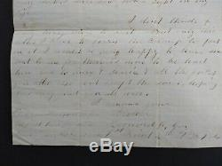 New Hampshire Civil War 1865 03/04 Leonard Gay, 4th NH Soldiers' Letter in NC