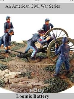 Old Northwest Trading Co. Loomis Battery Civil War Union Toy Soldiers