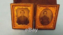 Original Civil War Soldier Tintypes Union or Confederate Soldiers