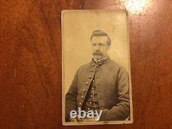 Original Identified Civil War Soldier CDV 30th Michigan Infantry Almont
