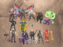 Panther Ant-Man Wasp Hulk Falcon Winter Soldier Civil War Marvel Universe Figure