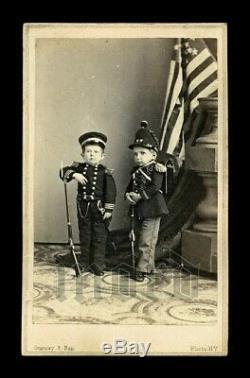RARE 1860s Gurney Sideshow CDV Civil War Soldiers
