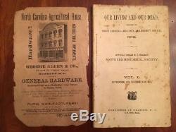 RARE 1874 North Carolina Civil War Confederate Soldier NC Stories, Vol. 1, No. 1