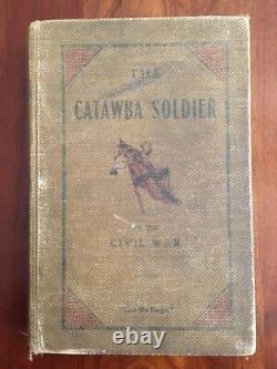 RARE 1911 Catawba Soldier of the Civil War, Hickory, North Carolina, Confederate