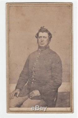 RARE Civil War Mourning Death Soldier Poem Sheet & CDV Photo Utica NY 1863