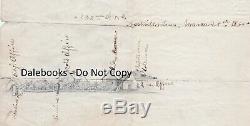 RARE Civil War Soldier Artist Hopkins Orig Drawing & Papers Nashville Camp 1865
