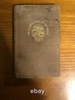 Rare 1862 National School For The Soldier Civil War