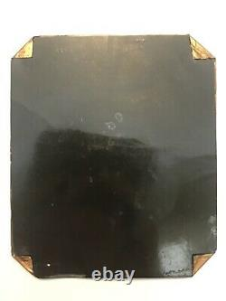 Rare Antique Civil War Soldier Confederate Wearing Overcoat Tintype Photo