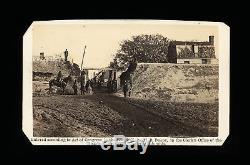 Rare CDV Photo Civil War Soldiers Gateway Yorktown Brady's Album Gallery 1862
