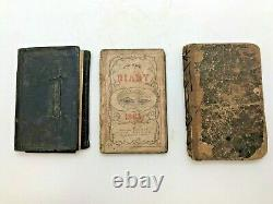 Rare CIVIL War Soldier's Diaries, Cavalry Sword, And Sunday School Book