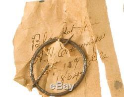 Rare Illinois Civil War Canteen Union Confederate Attribute to Soldier Plus Pin