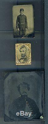 Rare tintypes and cdv civil war soldiers and President Abraham Lincoln lot