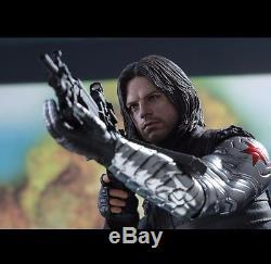 Ready Hot Toys Captain America 3 Civil War Winter Soldier Bucky Sebastian MMS351