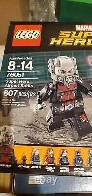 Retired Lego Marvel Super Hero Airport Battle (76051)- Captain America Civil War