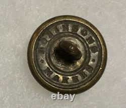 Rhode Island Civil War Staff Button Group With Soldiers CDV