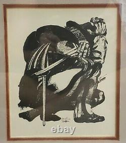 Rolland Golden Civil War Soldier Lithograph Print (New Orleans) (20th Cent.)