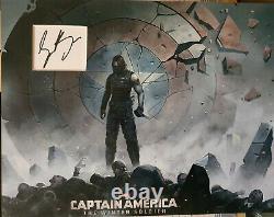 SEBASTIAN STAN Signed 14X11 Photo Display CAPTAIN AMERICA Winter Soldier COA