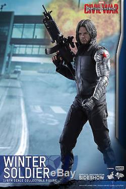 SS1/6 Captain America Civil War Winter Soldier Masterpiece Sideshow 902656