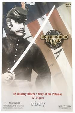 Sideshow 12 Brotherhood of Arms Civil War US Infantry Officer Army Potomac NEW