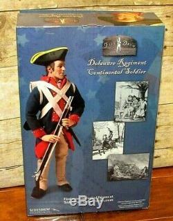 Sideshow Continental Soldier Delaware Regiment 12 New Set CIVIL War Brotherhood