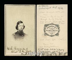 Signed ID'd Civil War Soldier Col CS Bulkley Western Union Telegraph Expedition