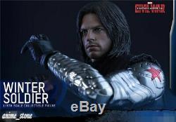 Super Hero Captain America Civil War Winter Soldier 1/6 Action Figure Toy Gift