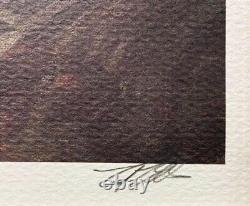 Ted Ellis Buffalo Soldier on Patrol FRAMED Black Signed & # Art NEW Civil War