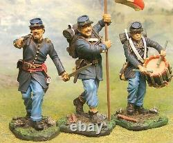 The Collectors Showcase CIVIL War Union Cs00413 Command Set Mib