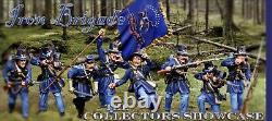 The Collectors Showcase CIVIL War Union Iron Brigade 2nd Wisconsin Set