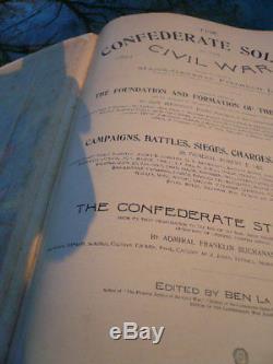 The Confederate Soldier In The CIVIL War. 1861-1865. Rare. 1st. Edition 1895