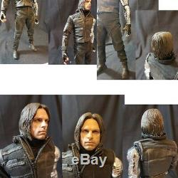 The Winter Soldier Captain America Civil War Bucky in excellent shape HOT TOYS