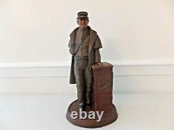 Tom Clark Confederate Soldier 1861-1865 Figurine 14 1/2 Tall Rare Find