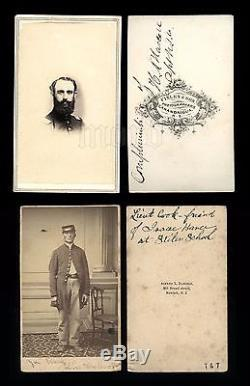 Two identified civil war soldiers
