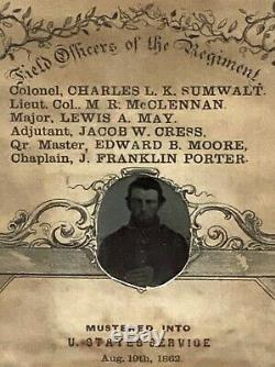 US Civil War 138th Pennsylvania Volunteers Soldier Record GAR Medal Tintype IDd