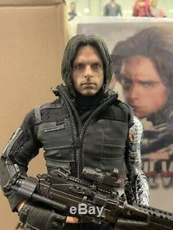 USED Hot Toys MMS351 Captain America Civil War Winter Soldier Bucky 1/6