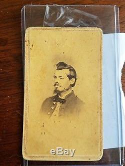 Union Civil War Soldier John Sizelan 10th New York HA CDV Image