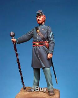Union Drum Major at American Civil War Tin Painted Toy Soldier Pre-Order Art