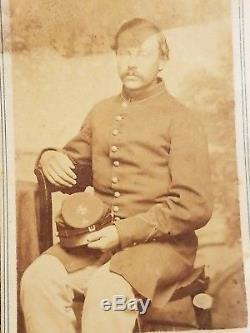 Unknown Union Civil War Soldier 5th Corp CDV Image