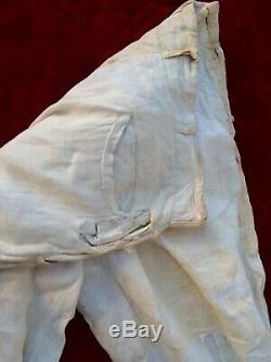 VINTAGE Confederate Civil War Soldier Uniform pants + Shoe + Tintype 1863 -1864