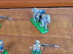 Vintage Antique Diecast Hand painted Metal Civil War Soldiers (38)