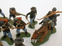 Vintage Britains Swoppets Union ACW American Civil War Soldiers mix 11 figures